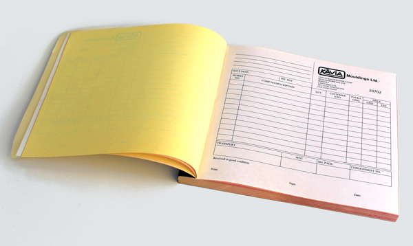 Invoice Books | Nu Age Print & Copy | Burnley