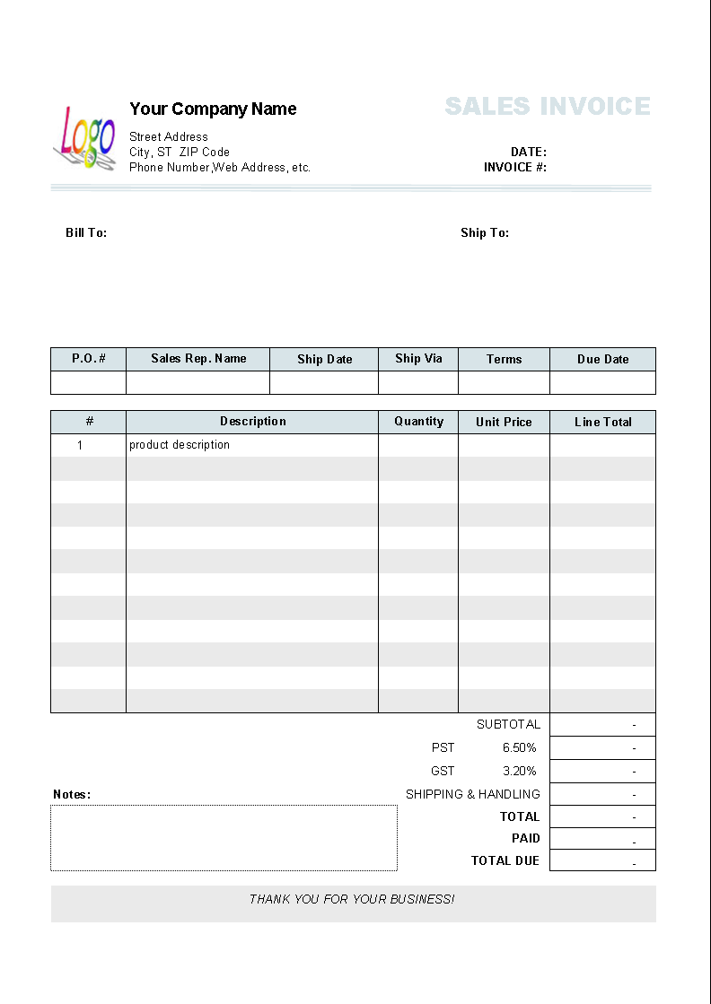 Apple Numbers Invoice Template Apcc2017