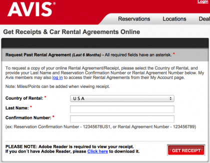Bizarre new car rental trick: an airport fee for a non airport rental