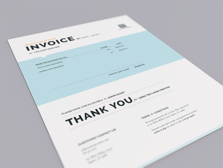 beautiful invoice design Black.dgfitness.co