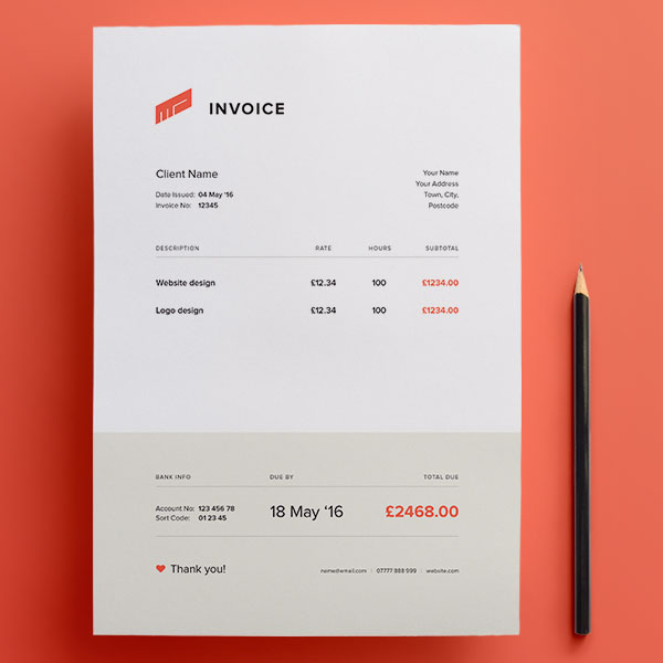 Think Your Invoice is Boring? Here Are The Top 25 Beautiful
