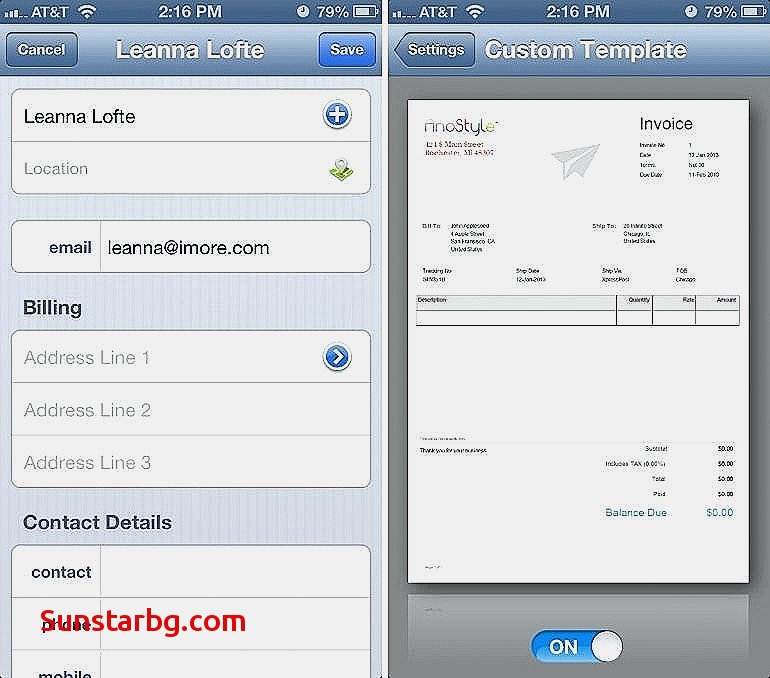 Best Invoice App for Mac Free for Invoice Template @ Beautiful
