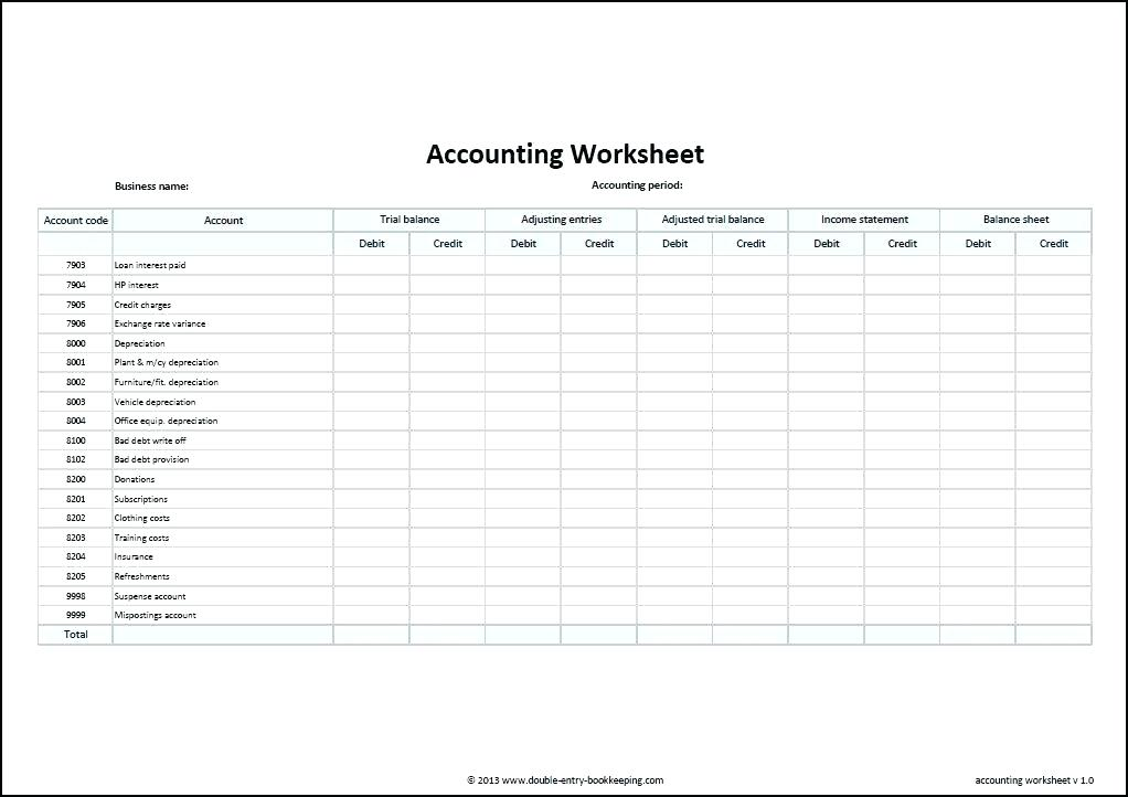 Simple Bookkeeping With Excel Free Excel Spreadsheet Templates