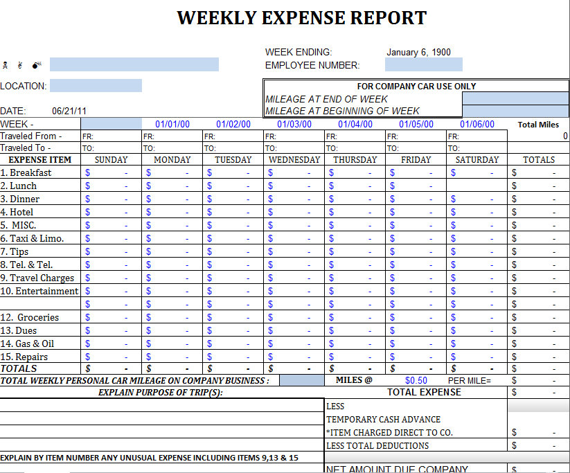 Business Expense Tracker Template Apcc2017