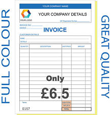 Personalised Invoice Book: Business, Office & Industrial | eBay