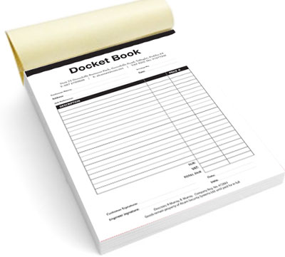 Personalised Duplicate Invoice Books Charla Personalised Invoice
