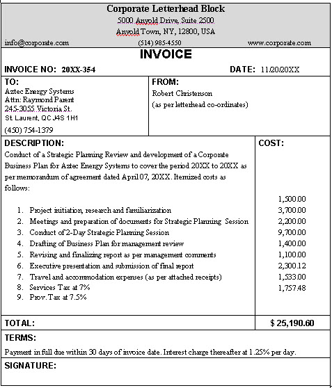 free business invoice template Acur.lunamedia.co