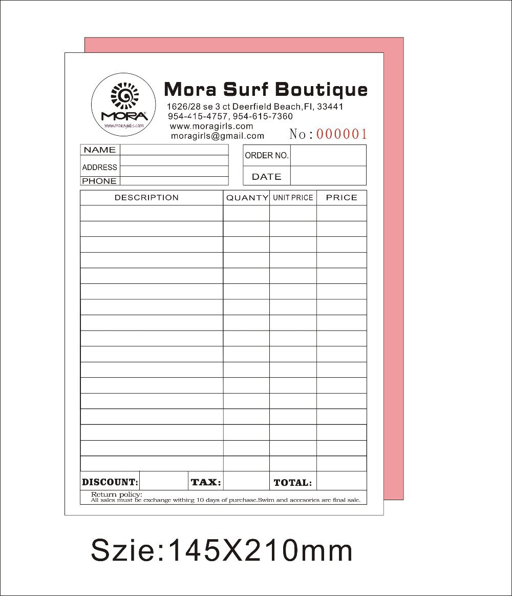 Wise Buy Tax Invoice Statement Book 100pgs DB TS02 Shop & Save
