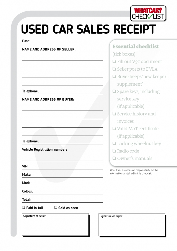 Vehicle Sales Invoice Template ~ rusinfobiz
