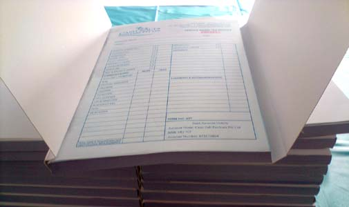 Carbonless Invoice Books Quote Books Receipt Books Delivery Docket