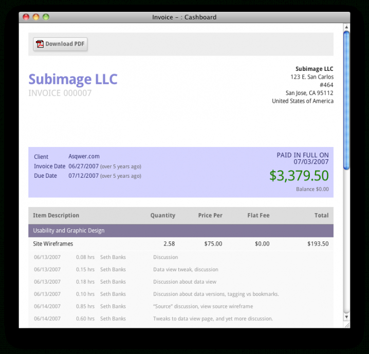 Free Online Invoicing Software – 14 Day Trial – Cashboard