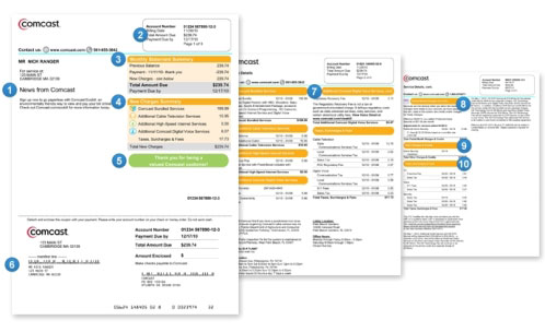 Understanding your Comcast Business bill | Comcast Business