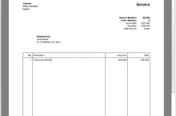 Payment Invoice Sample Apcc - Computer generated invoice software free
