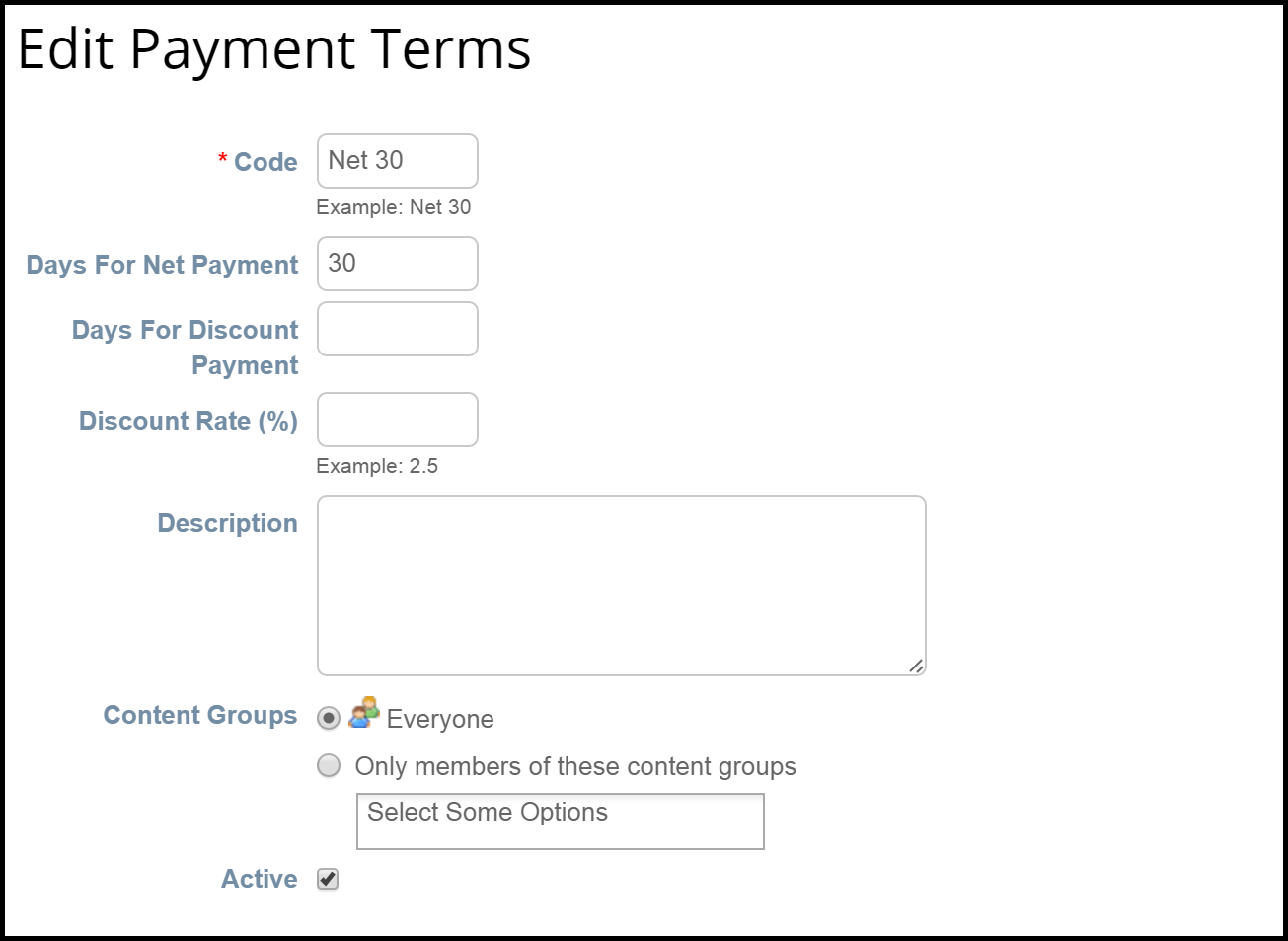 Sample cXML Invoice with Payment Terms Coupa Success Portal