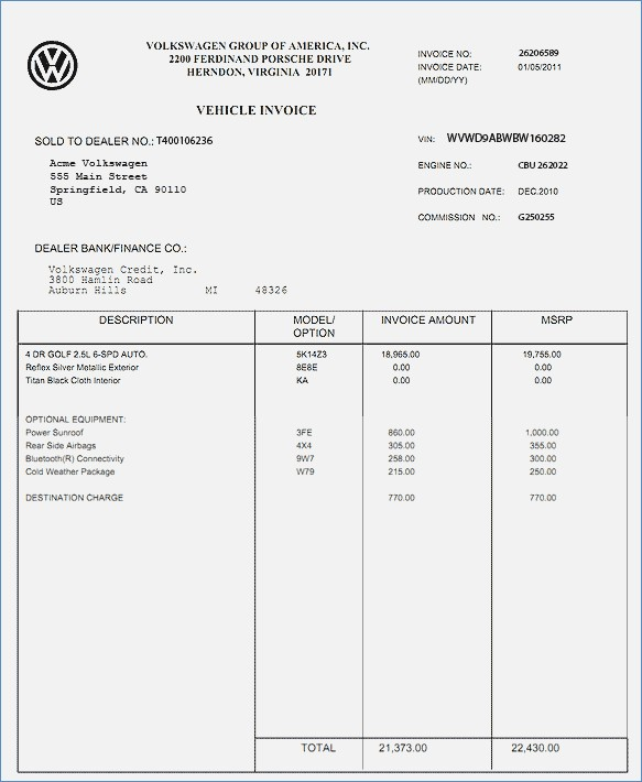 Dealer Invoice Price Lookup Bes Of Car Invoice Price Finder