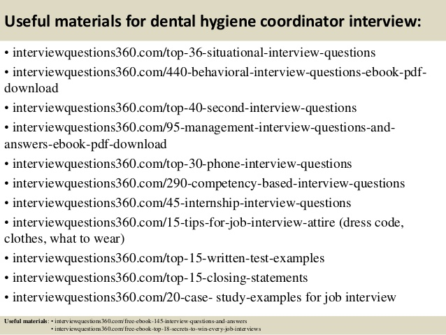 How to interview for your first position as a dental hygienist