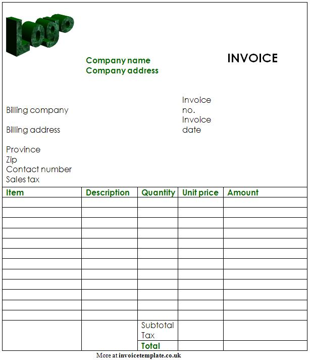 free invoice template pdf free invoices templates pdf downloads