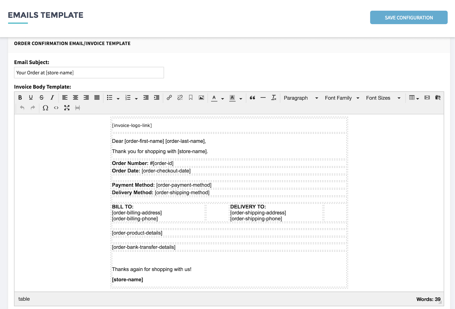 email invoice templates Ecza.solinf.co