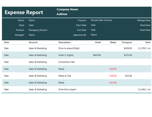 expense report template excel lw00000029