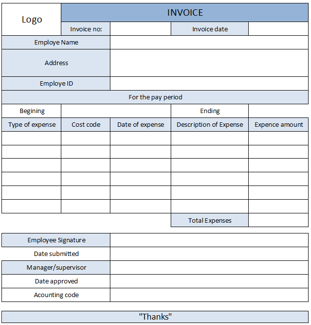 4+ Expense Receipt Templates Free Sample, Example Format