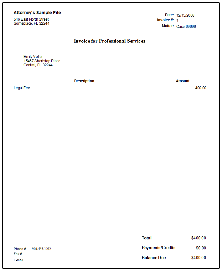 Late Payment Penalty Fee Display on Invoices