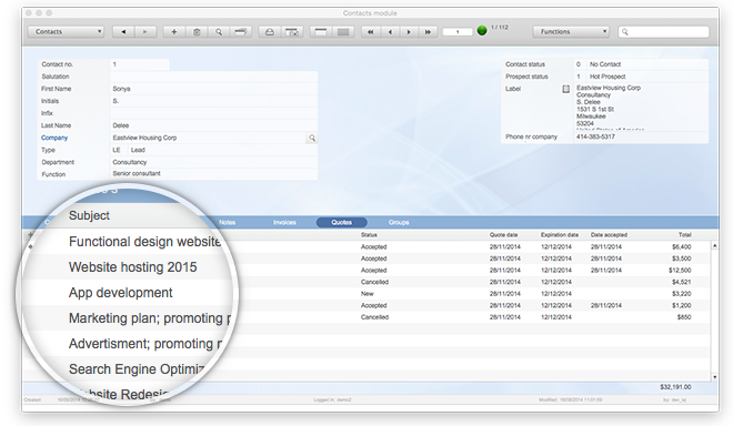 FileMaker invoice solution | Azor