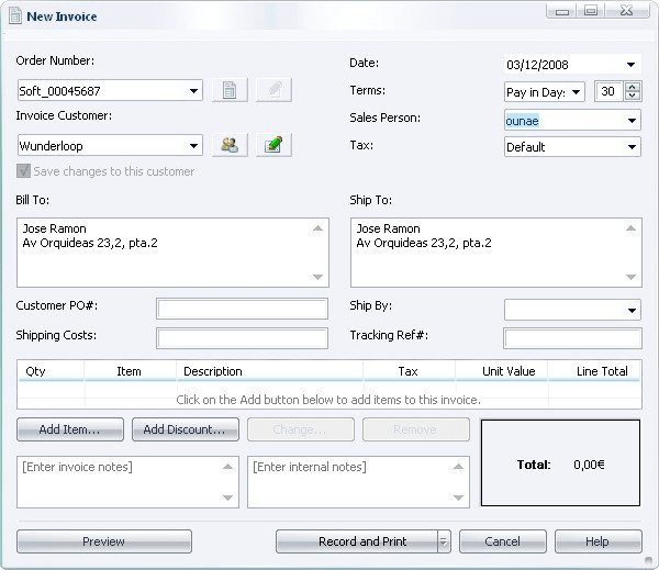 freeware invoicing software Ecza.solinf.co