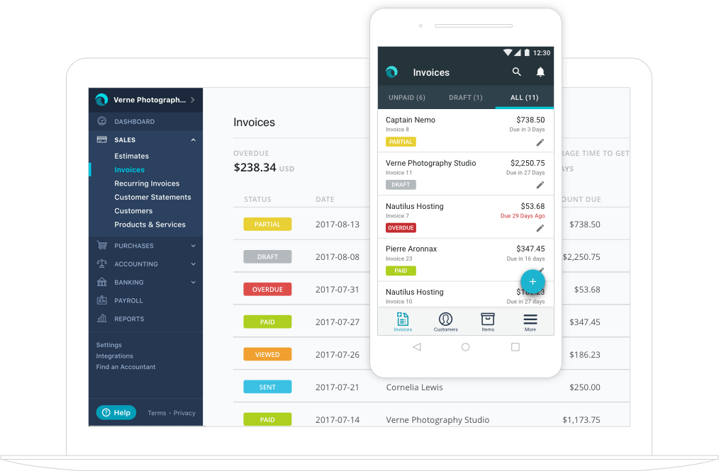 Free Invoice Template for android Unique Invoice App for Ipad