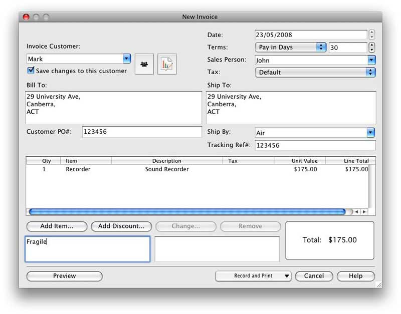 Free Invoice Software For Mac Fresh Ideas Free Invoice Software