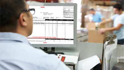 Generate a freight invoice and perform freight reconciliation [AX