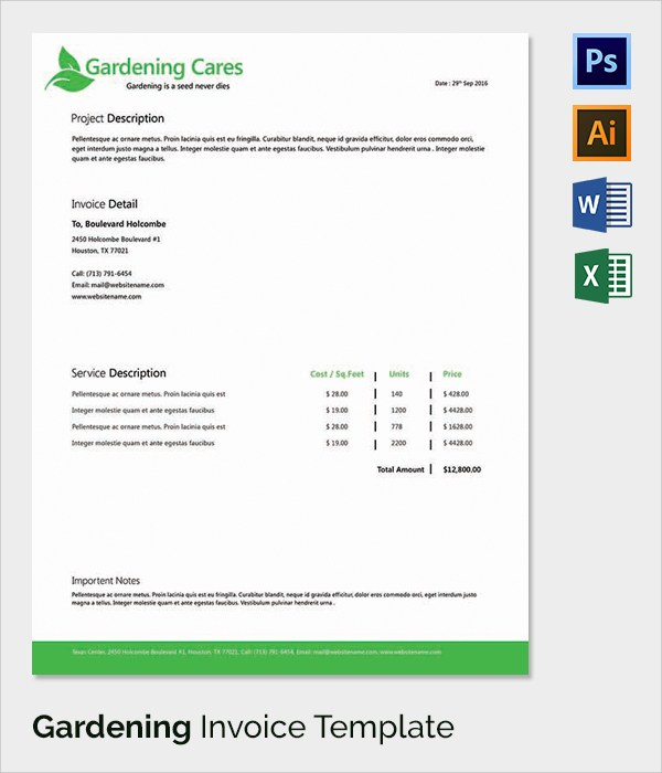 Software for Landscaping & Gardening | Powered Now: Invoice, Quote