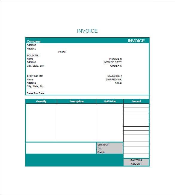 graphic design invoice template pdf graphic design invoice