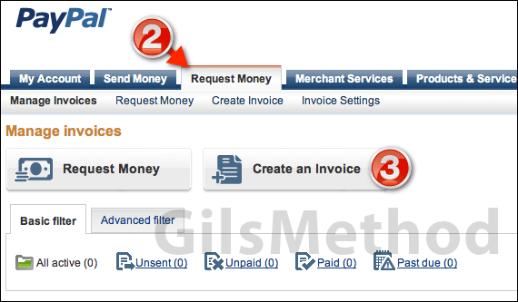 Send An Invoice With Paypal How To Send An Invoice Through Paypal