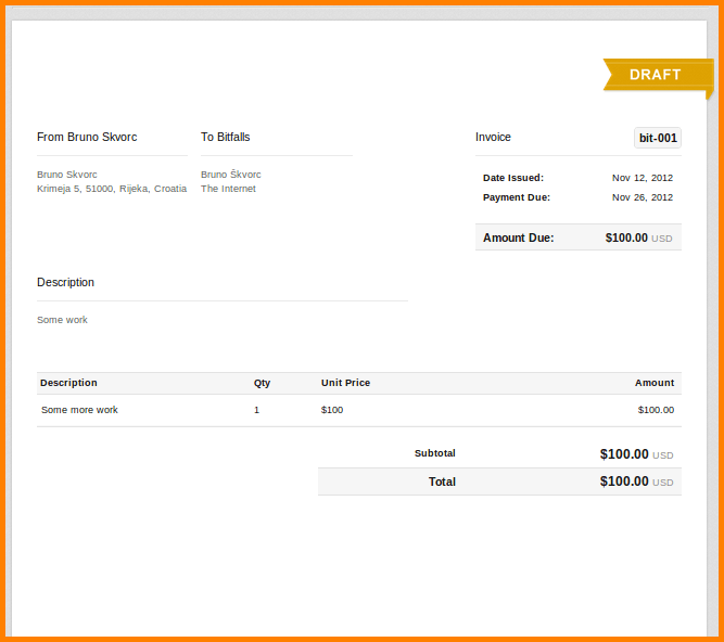 How To Write Invoice For Freelance Work Beautiful Ideas Making And