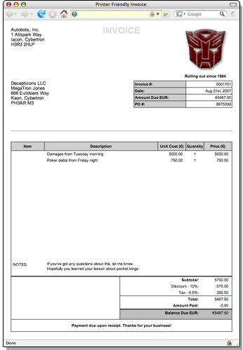 how to design an invoice Black.dgfitness.co