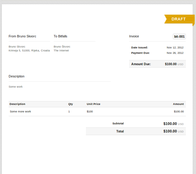 Creating An Invoice For Freelance Work Perfect Decoration