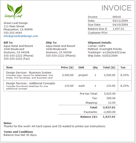 How to create an invoice: FreshBooks 101 | FreshBooks Blog