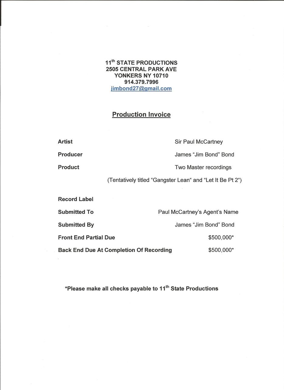 How to Write an Invoice for Payment for Services Rendered (with