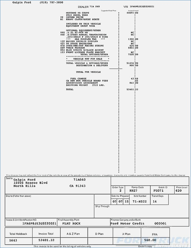 Canada Dealer Invoice Price Exquisite Design Dealer Invoice