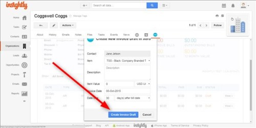 Online Project Management Customer Invoicing Using Apptivo