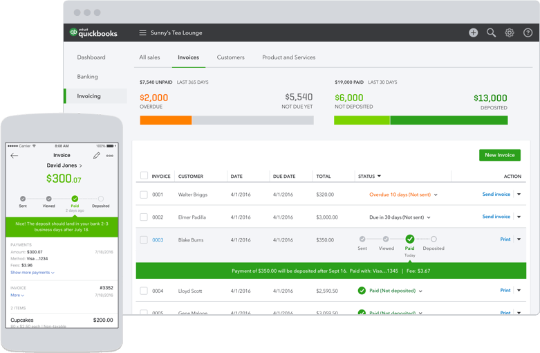 Intuit Has a Brand New Invoicing App for the Self Employed Small