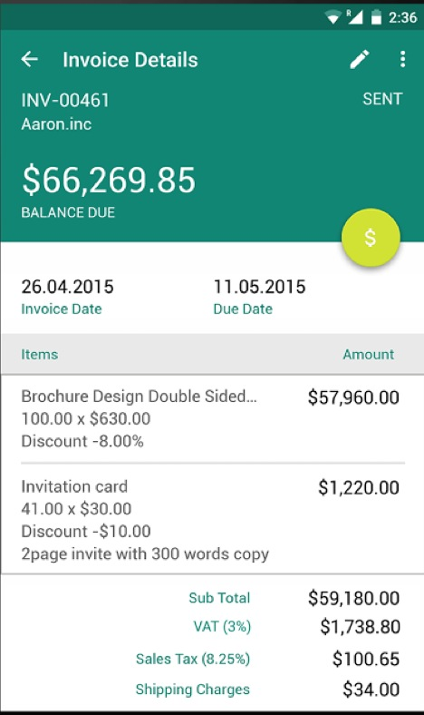 7 Android Billing Apps For Invoicing Like A Pro « Android.AppStorm