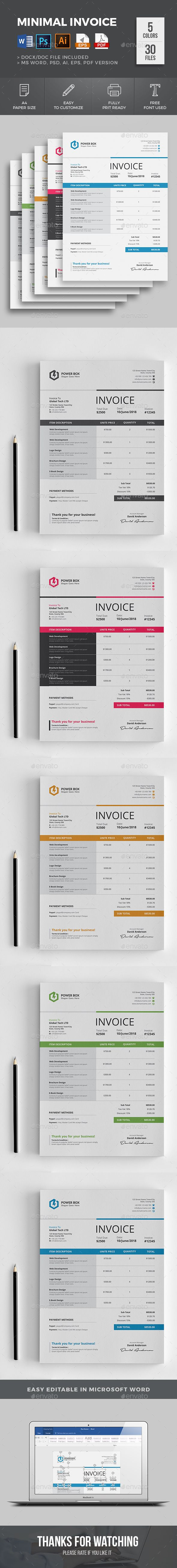 Best 75+ Invoice Templates images on Pinterest | Invoice design