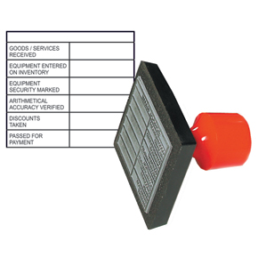 Product Title Invoice Authorisation Stamp