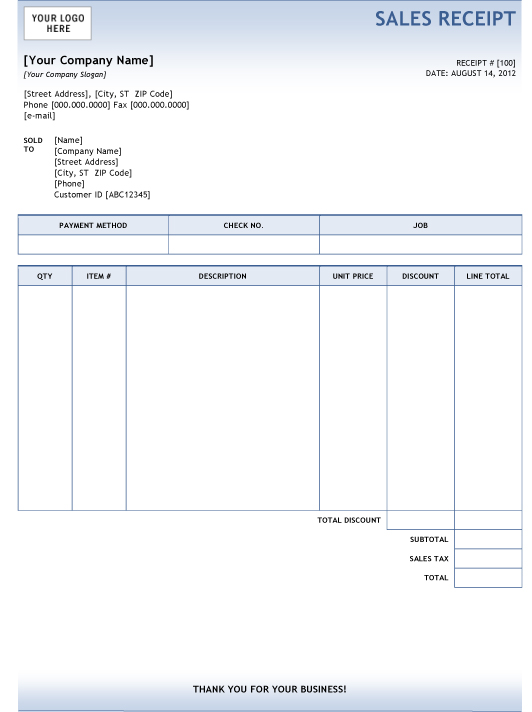 Invoice Template for Google Docs Harvest