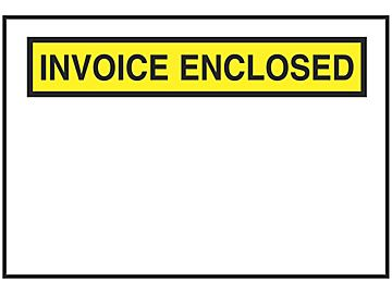 Invoice Enclosed in Stock ULINE