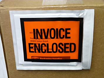 Amazon.: Invoice Enclosed Packing List Envelopes Full Face