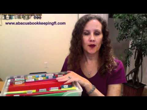 Abacus Bookkeeping, LLC   How to set up a filing system for your