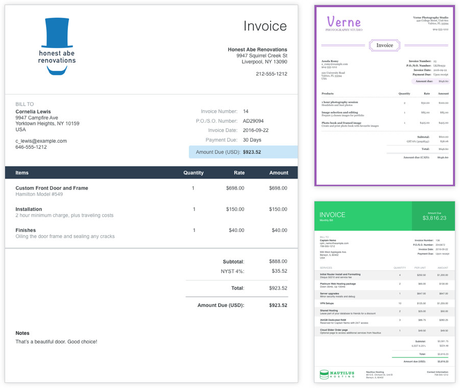 Download Invoice Software Small Business Invoice Software For