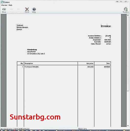 software Invoice Gratis for Invoice Template @ New Debit Note